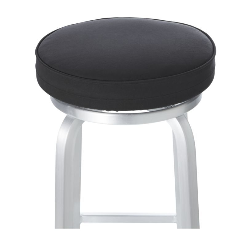 Spin Black Bar Stool Cushion Cap Our Stylish Counter Or Stools With