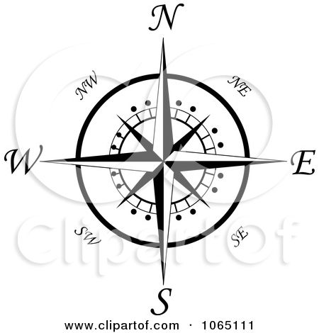 Compass for tabletop Compass Rose Template Printable | Royalty