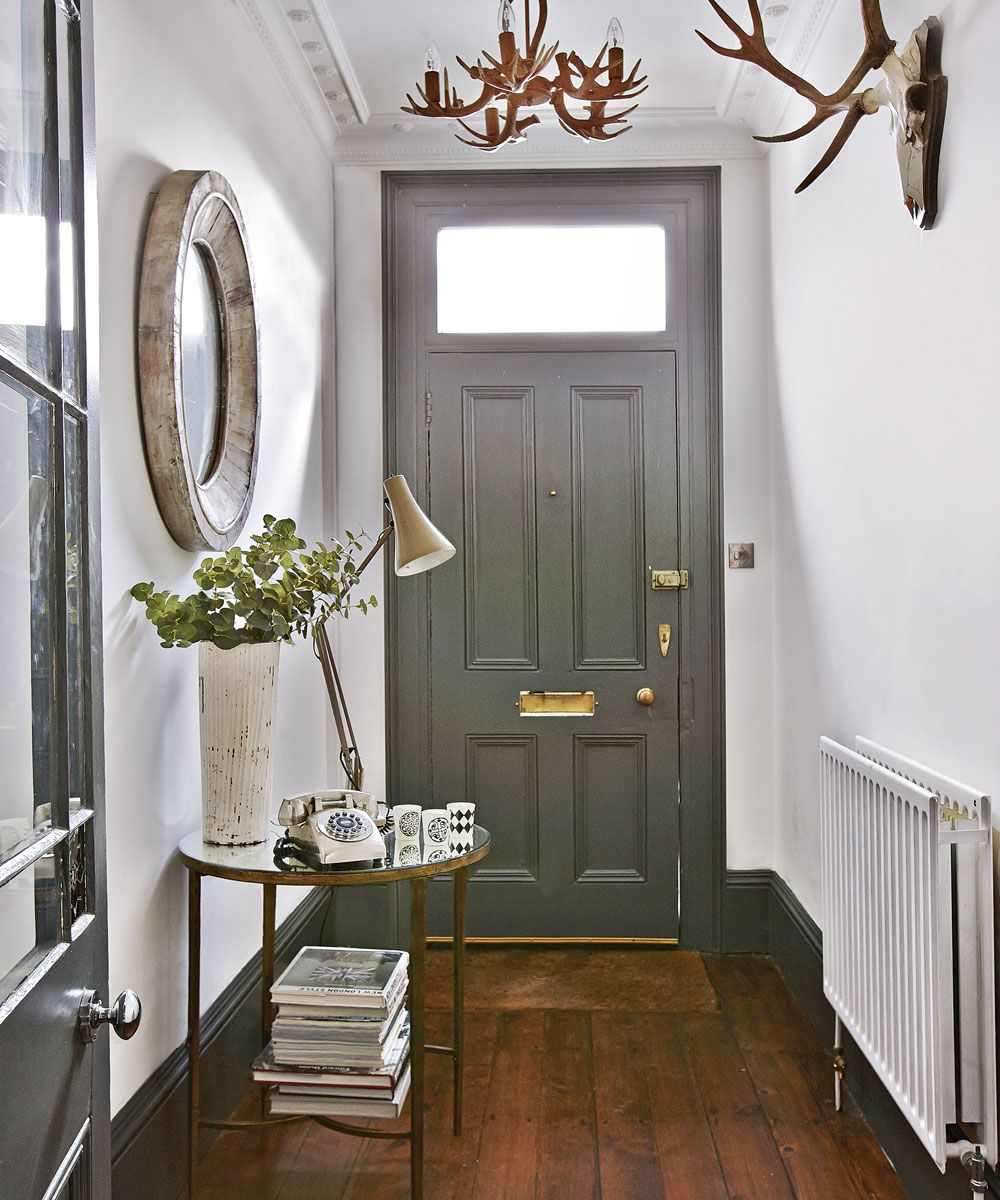 Modern hallway furniture ideas  Be inspired by this lateVictorian home in West Sussex  White wood