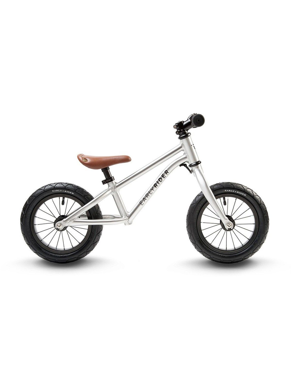 Sølv Early Rider Alley Runner 12 Inch-Aluminium Løbecykel | Early Rider | FreestyleXtreme | Danmark