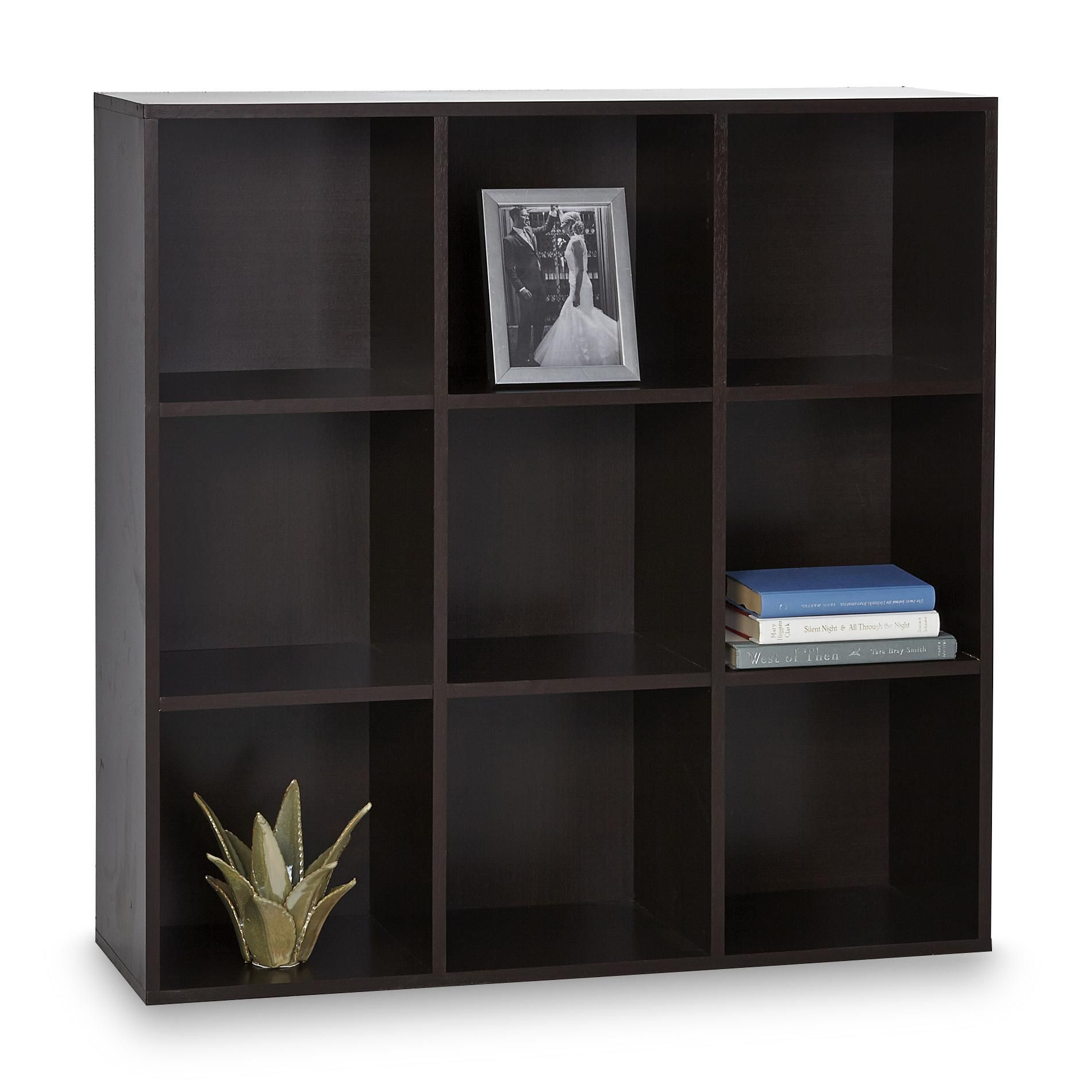 wooden cubes furniture. Essential Home 9 Cube Storage Unit - Espresso Wooden Cubes Furniture O