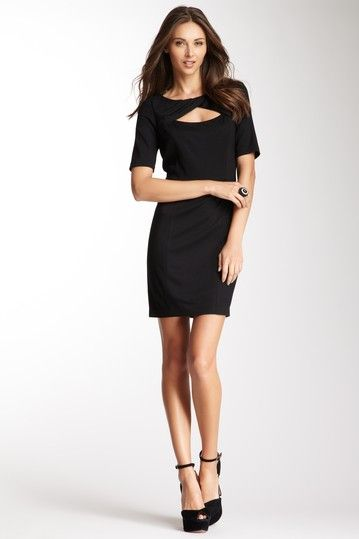 Twisted Neck Dress Every Girl Needs A Little Black Dress Dream