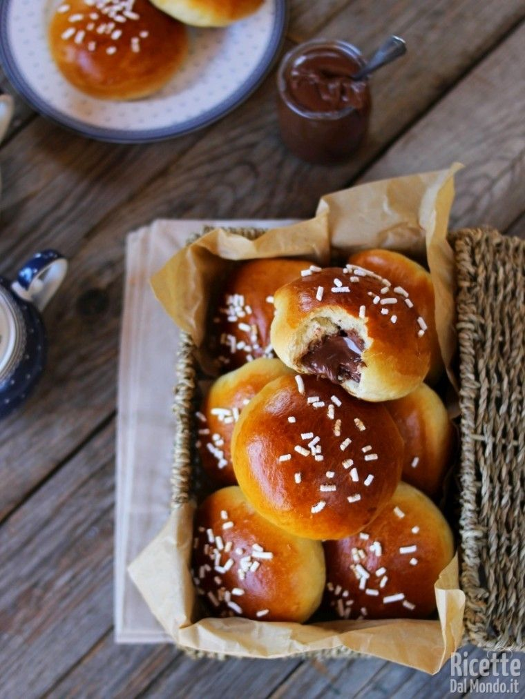 Panini alla Nutella Bimby Ricetta nel 2020 Idee