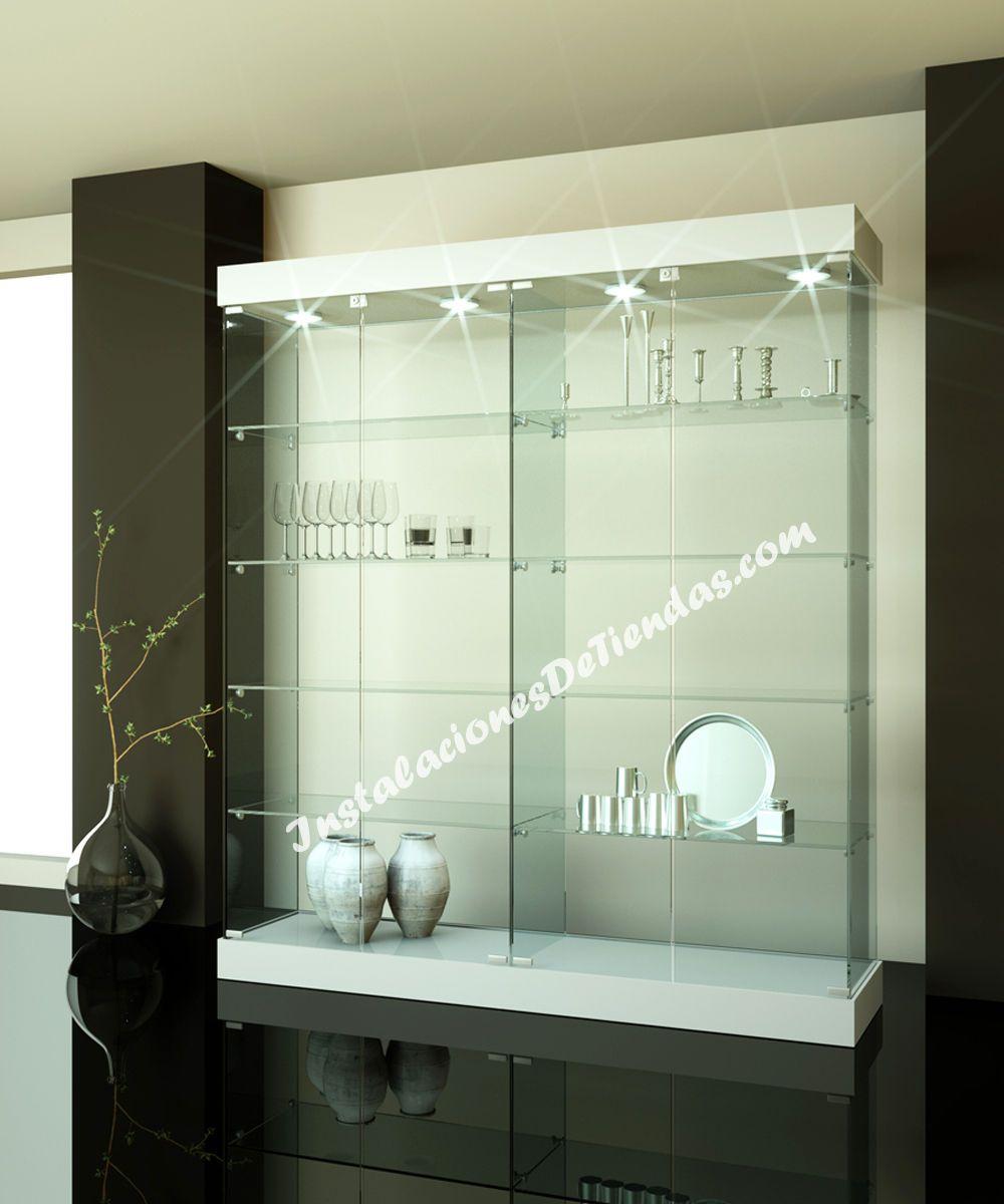 Vitrinas de cristal vlc it 161 c 3 c vitrinas vitrinas - Vitrinas de madera y vidrio ...