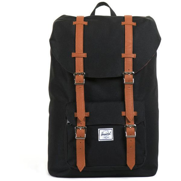 Herschel Little America Mid Volume Backpack - Black $155