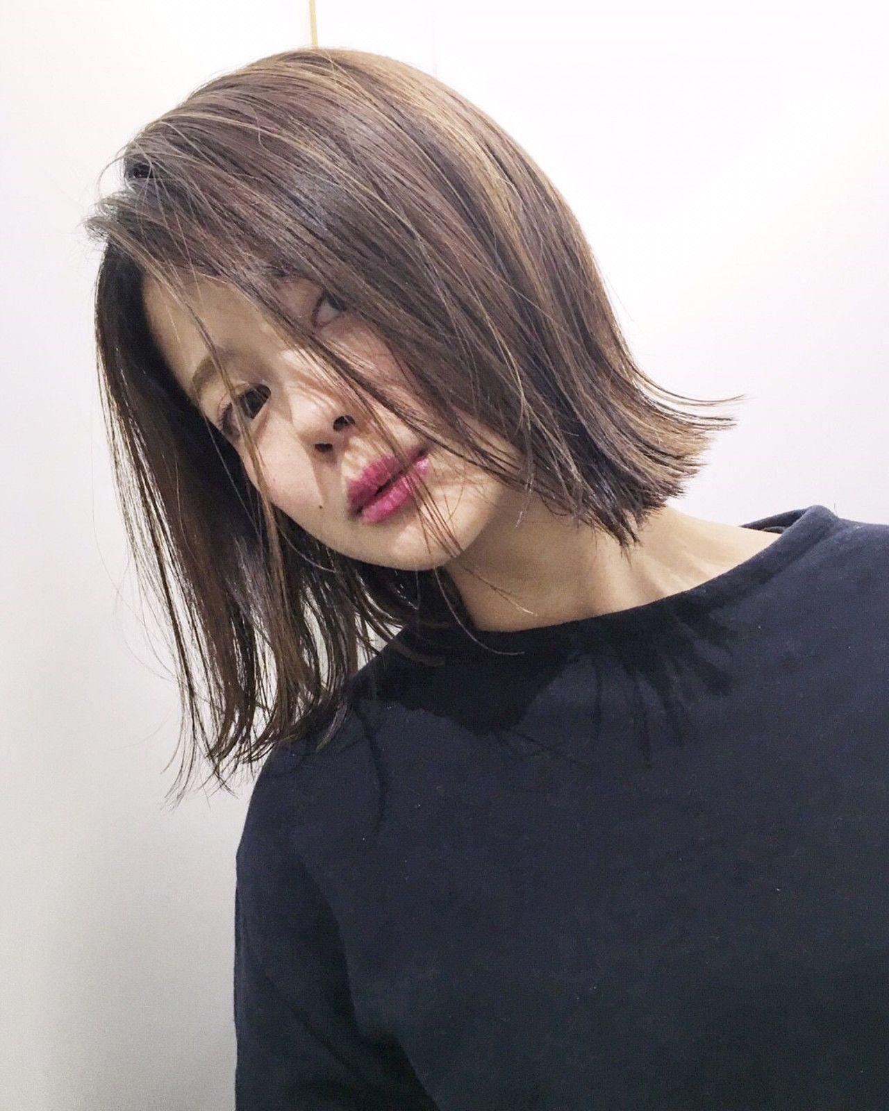 Sachiko Handaさんのヘアカタログ   外国人風,黒髪,ハイライト,ボブ,ナチュラルストレート   2016.05.15 21.40 - HAIR