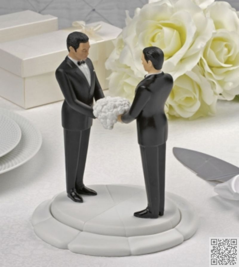 Same sex wedding cake toppers