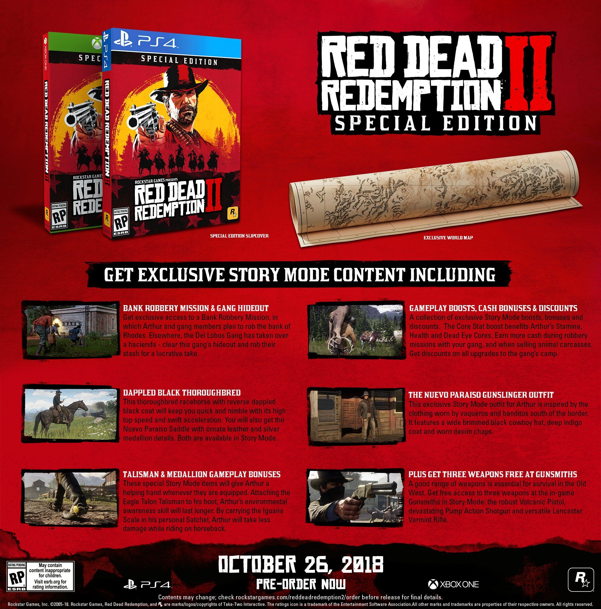 Red Dead Redemption 2 Special Edition Playstation 4 Redemption Dead Red Playstation Red Dead Redemption Xbox One Red Dead Redemption Ii