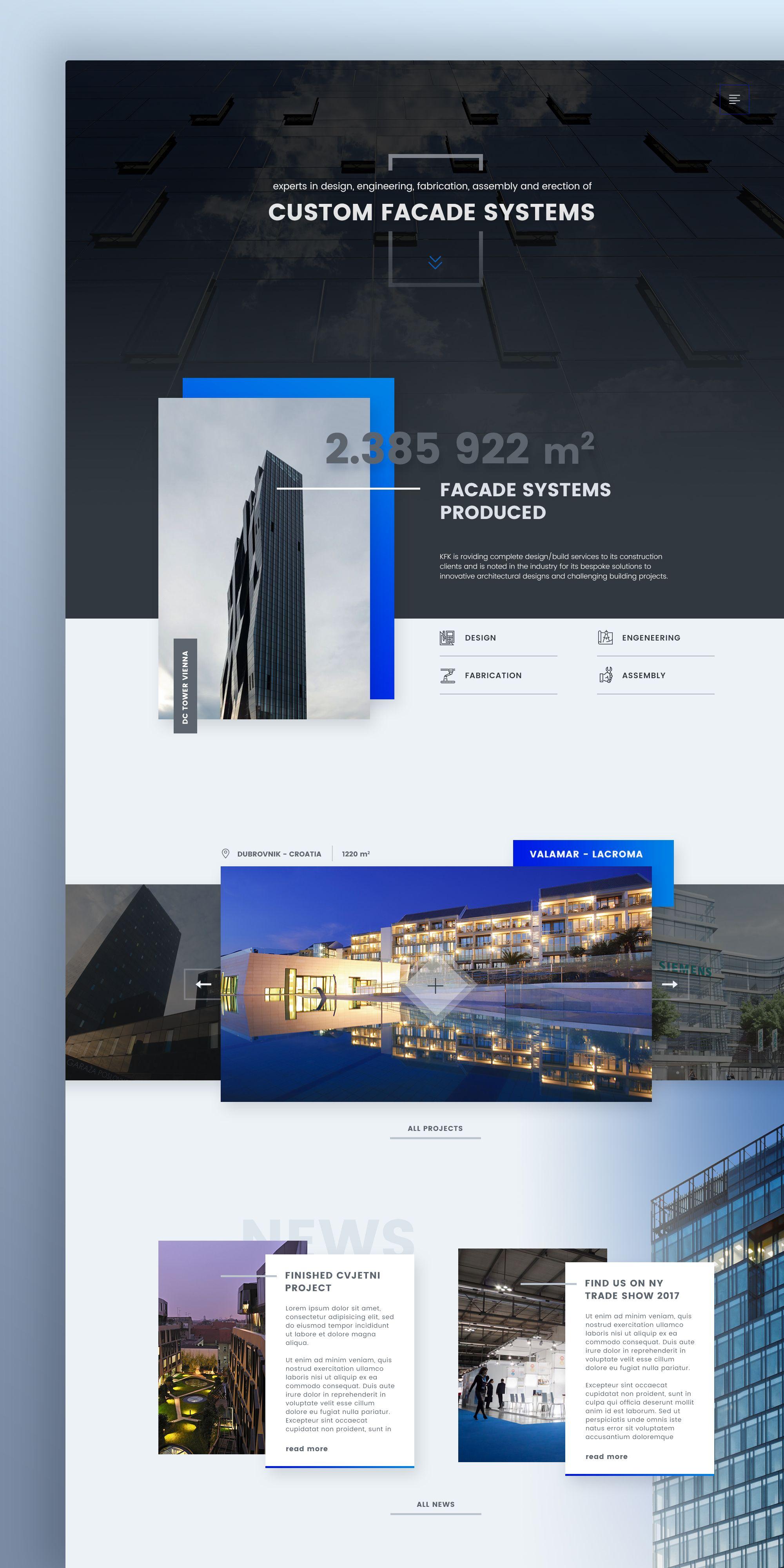Kfk Actual Corporate Website Design Web Design Websites Web Development Design