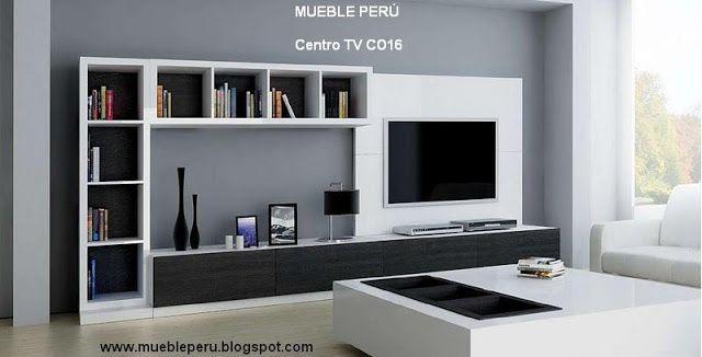 Muebles tv modernos centros de entretenimiento tv for Muebles para casas modernas