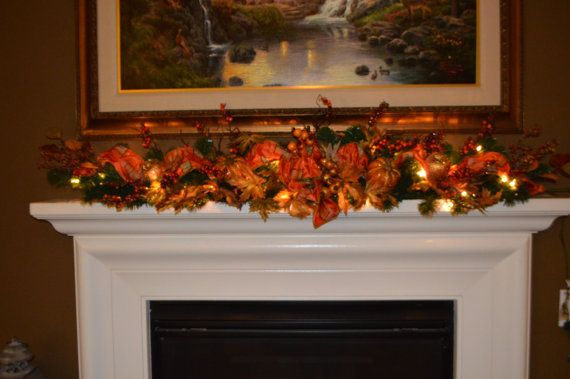 24+ Fall garland for mantle ideas