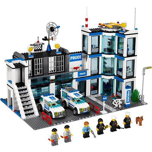 Lego City Police Station 7498 Fao Schwarz Lego Mstiteli Lego Deti