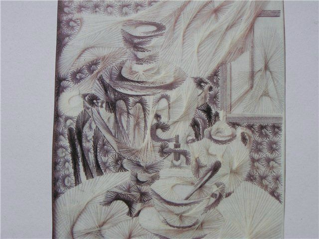 43 صورة لروائع فن الرسم باستخدام المسامير و الخيوط Paper Art Art Humanoid Sketch