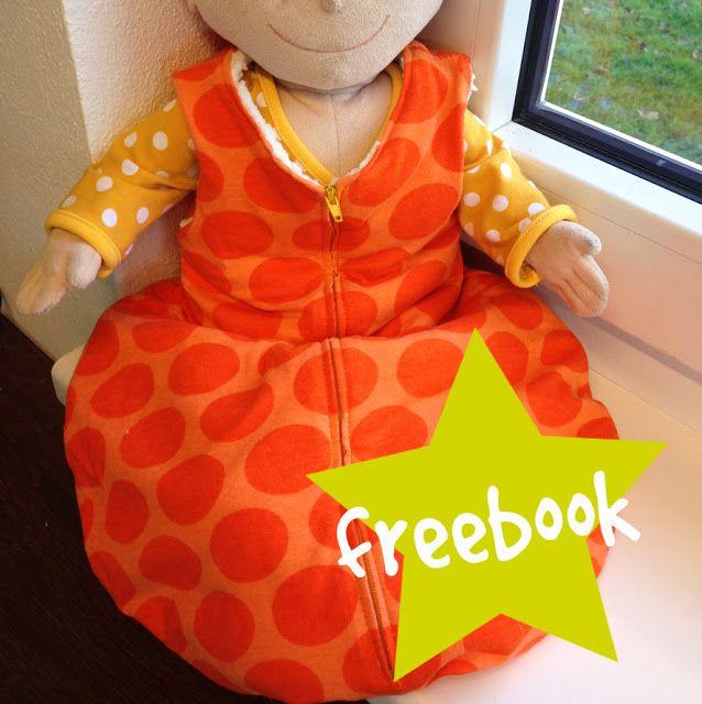 Freebook - Schlafsack für Puppe (oder auch für Frühchen) | Spielzeug ...