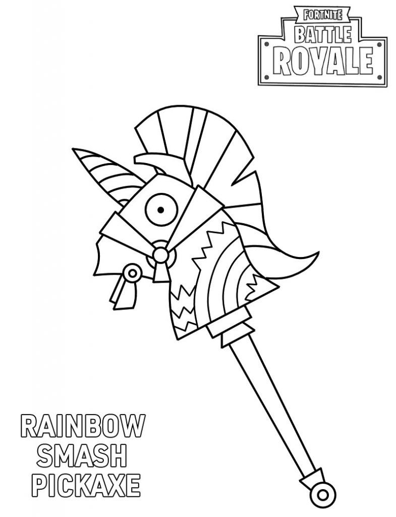 54 Fortnite coloring pages | Coloring Pages | 1024x785