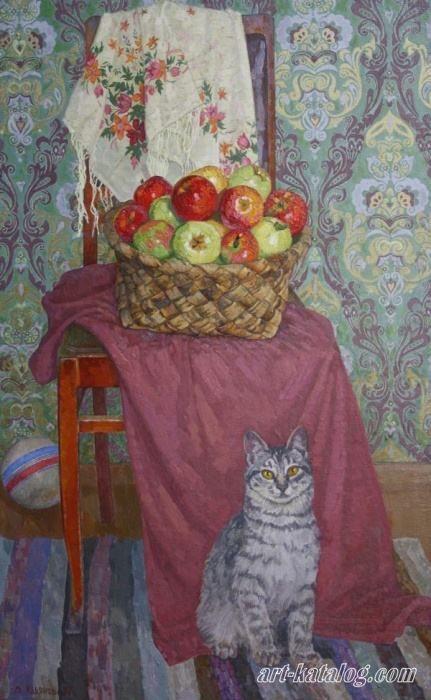 Ульянов Владимир.  Свежие яблоки