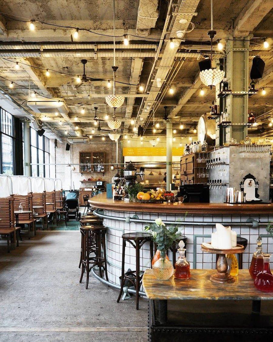 Canova Hall: Vast, rugged restaurant & bar in Brixton, with ...