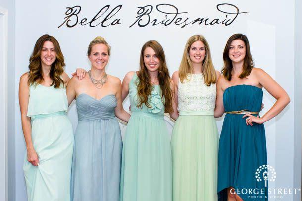Mismatched-Bridesmaids-Dresses-Bella-Bridesmaid-Wedding-Dress-Trends ...