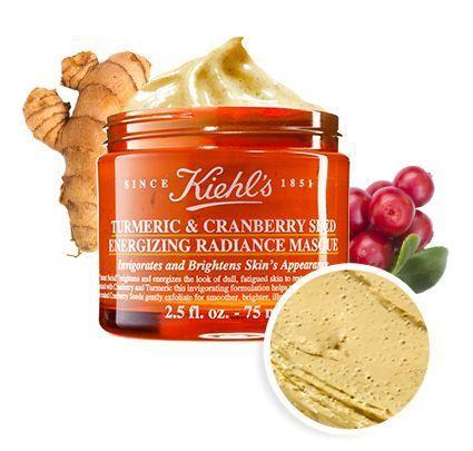 Photo of Turmeric & Cranberry Seed Energizing Radiance Mask – Kiehl's #FaceScrubsHome…