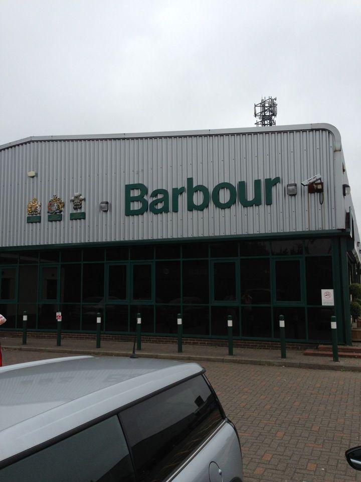 barbour outlet shop