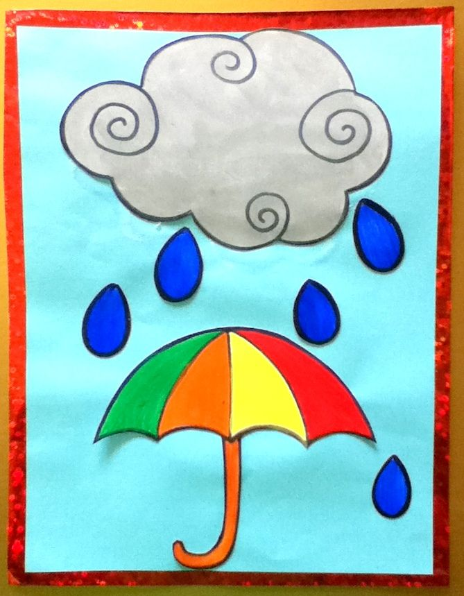Pitter-Patter raindrops (Childrens Picture Book)