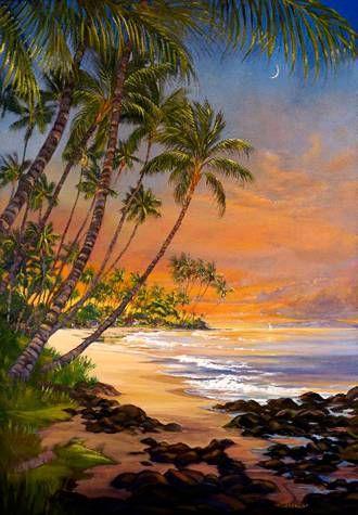 Art For Sale Maui Hands Art Galleries Paisaje Para Pintar Pinturas Hermosas Cuadros De Paisajes