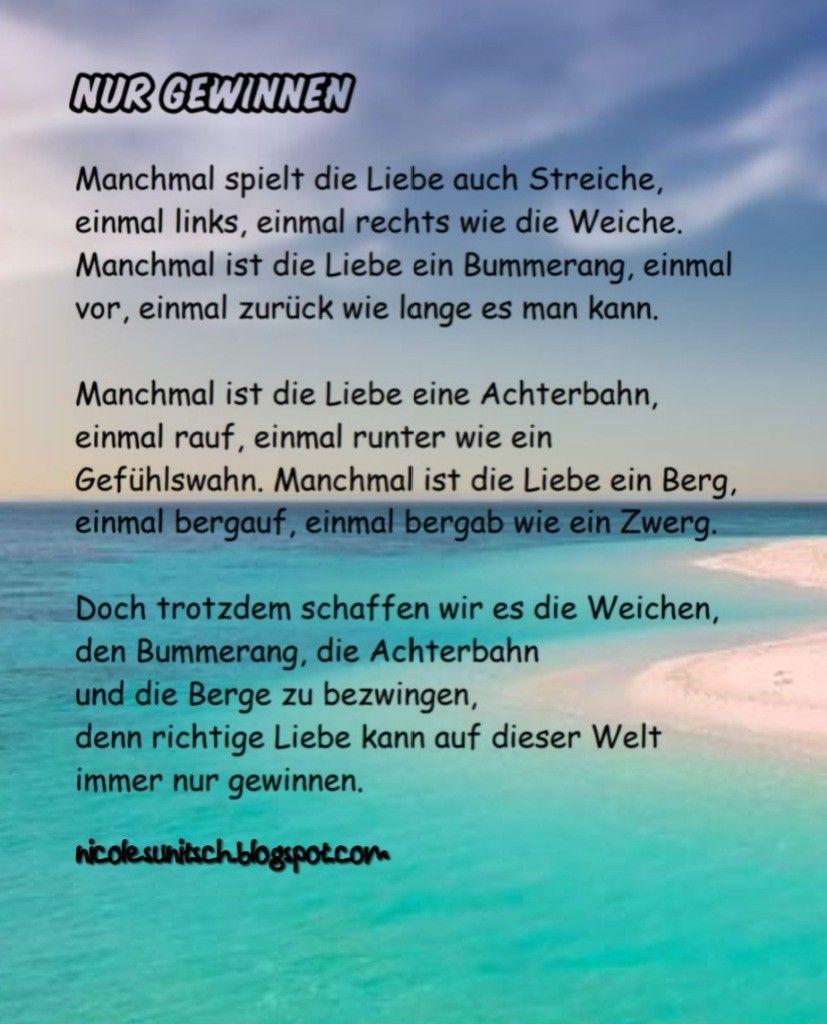 Pin Von Gedichte Nicole Sunitsch Auf Gedichte Von Nicole Sunitsch Gedichte Und Spruche Liebesgedicht Gedichte