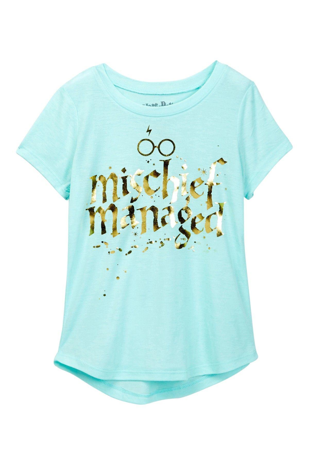 5ffdca85a Harry Potter Mischief Managed Tee (Little Girls & Big Girls ...