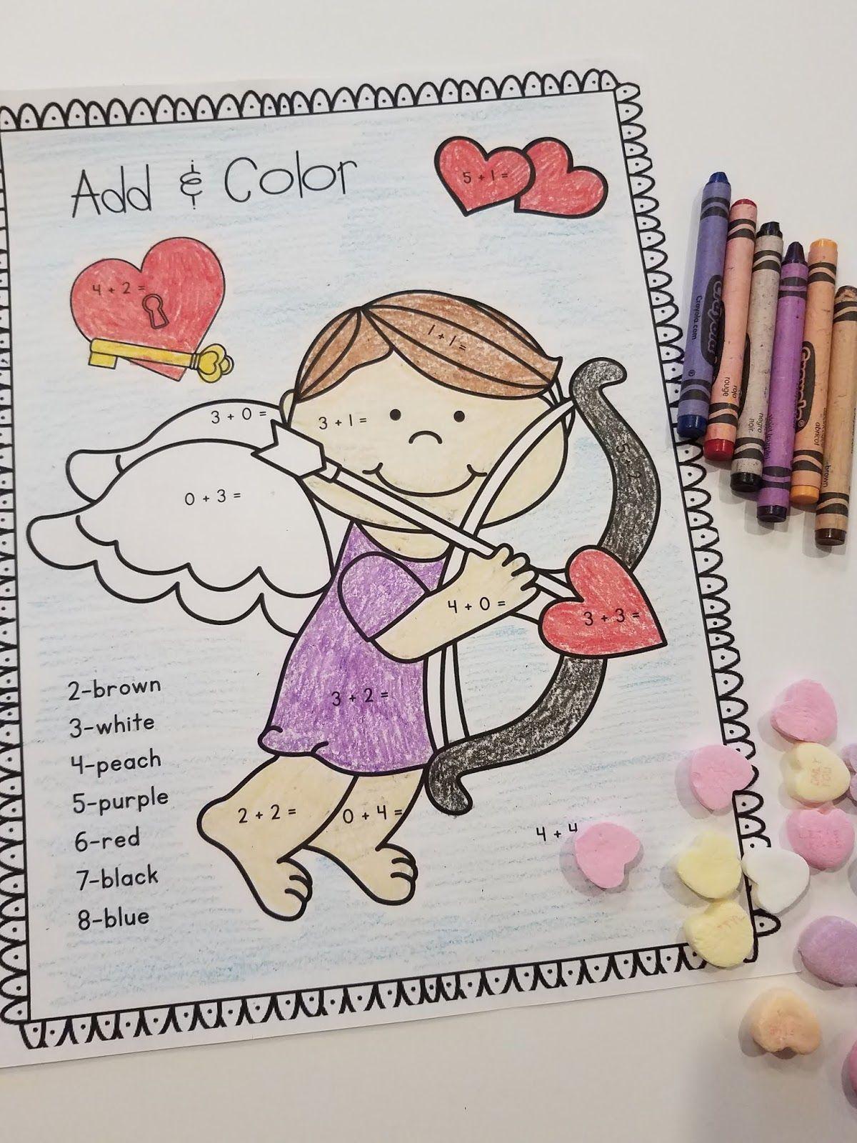 Valentine Activities For Kindergarten