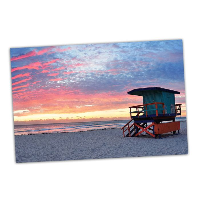 Picture It On Canvas South Beach Photographic Print Reviews