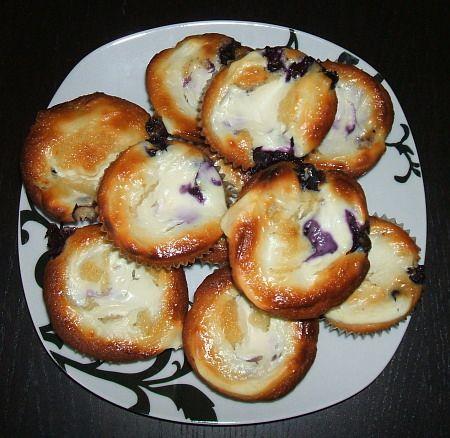 Heidelbeer-Vanille-Muffins