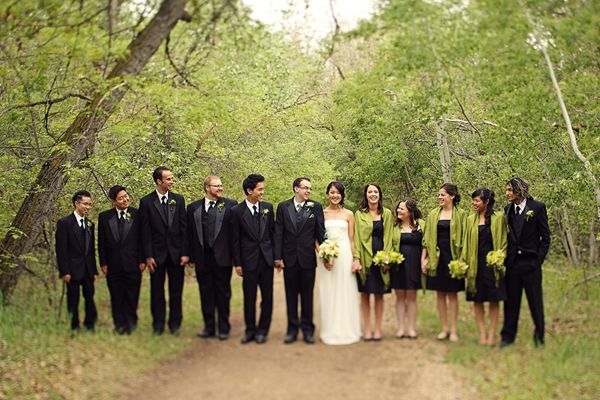 Wedding Black And Green