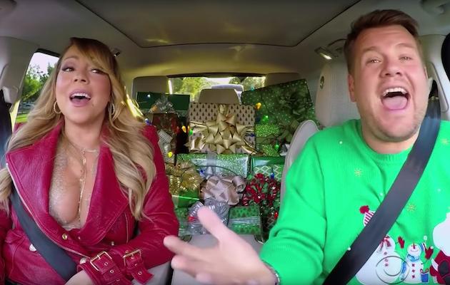 Mariah Carey, Adele and More on Christmas Carpool Karaoke