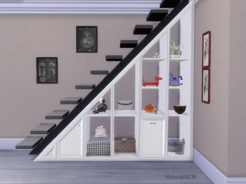 The Shelves Under Stair Are Made By Request And I Thought You May