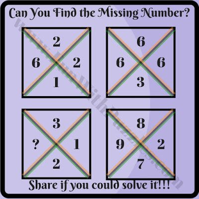 Cool Mathematical Brain Teasers with answers