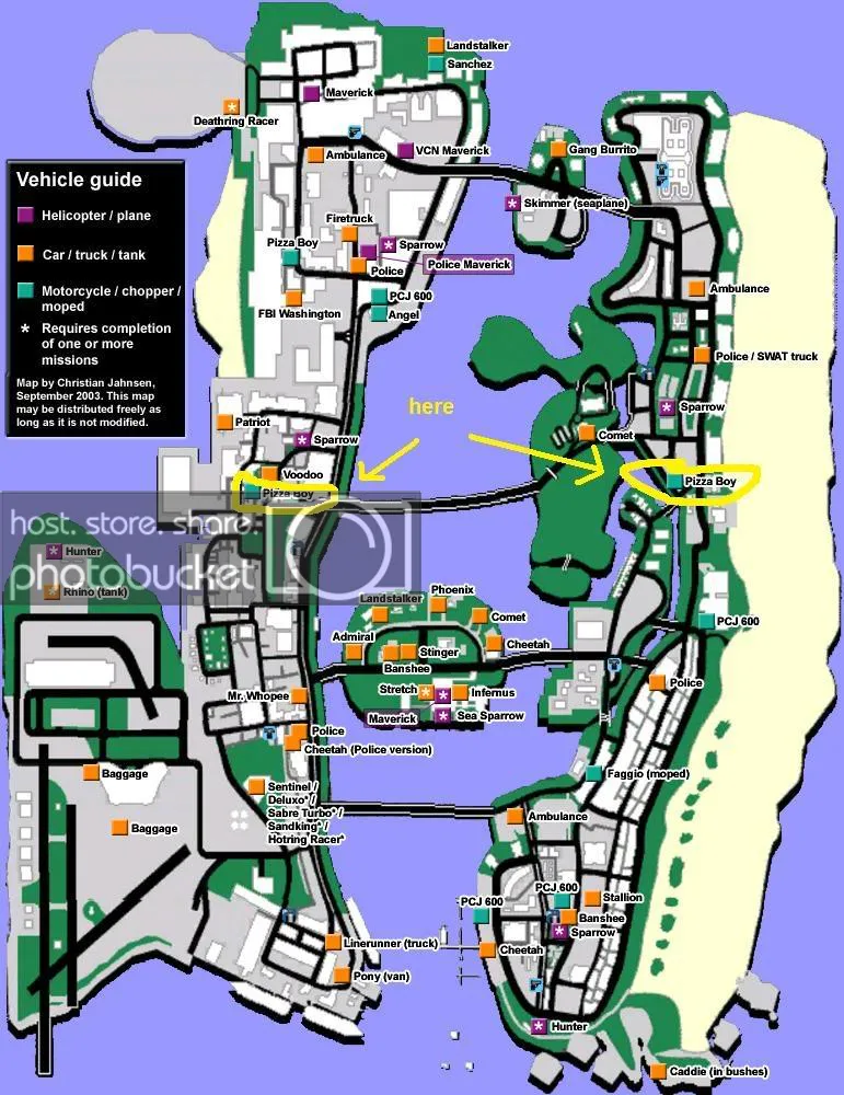 Gta Vice City Hidden Packages Map : hidden, packages, Finding, Pizzaboy, Faggio, GTAForums, Grand, Theft, Series,
