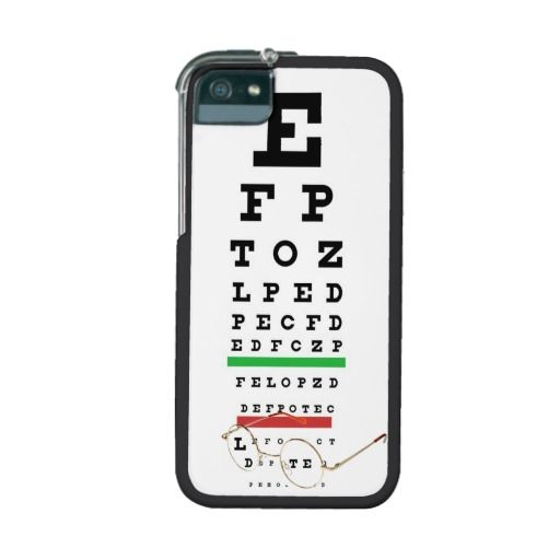 Eye Chart And Glasses Iphone Case Pinterest Chart Eye And Glass