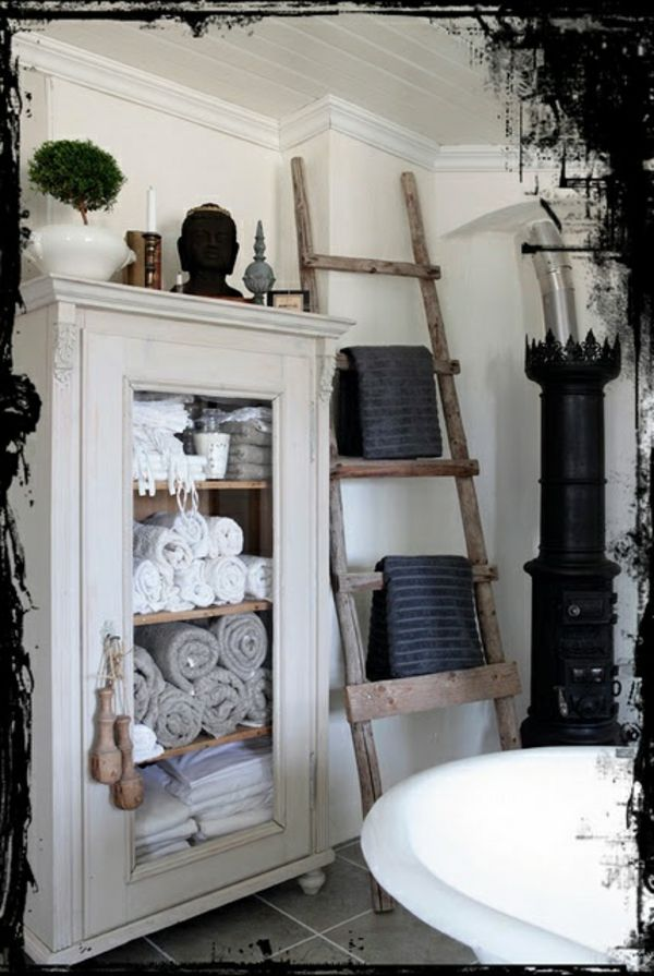 handtuchleiter aus holz f r ihr badezimmer zuk nftige projekte pinterest. Black Bedroom Furniture Sets. Home Design Ideas