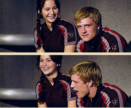 These two...It's going to be way too long before we see majorly fun Josh and Jenn interactions again. So glad we'll get to see them on the DVD on August 18th.