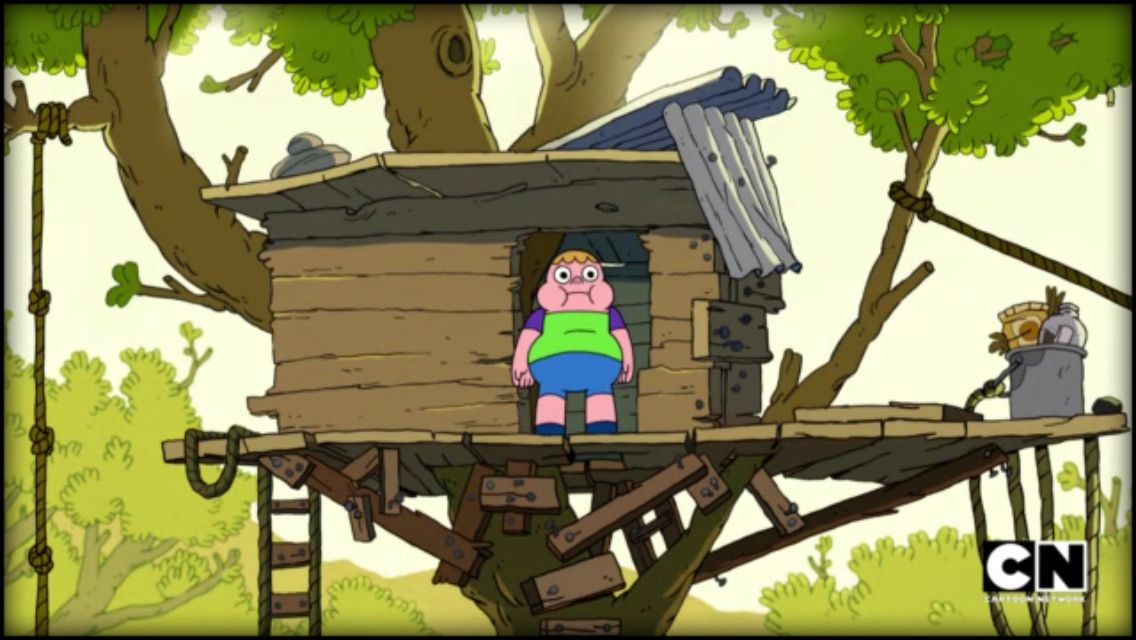 Clarence Just The Last One Up In Tree House Cartoon Network