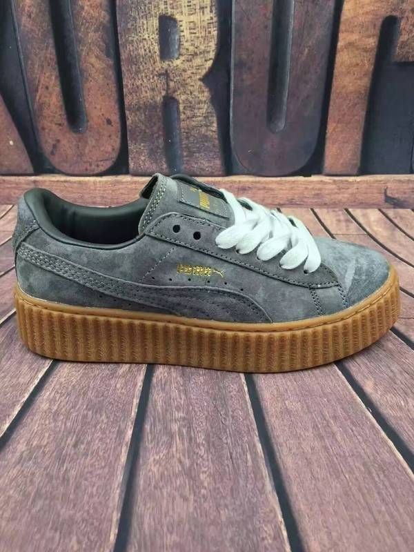 puma by rihanna creeper gris