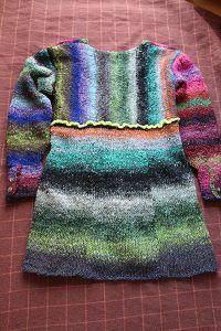 Pullover aus Obi 1 und 7 hinten