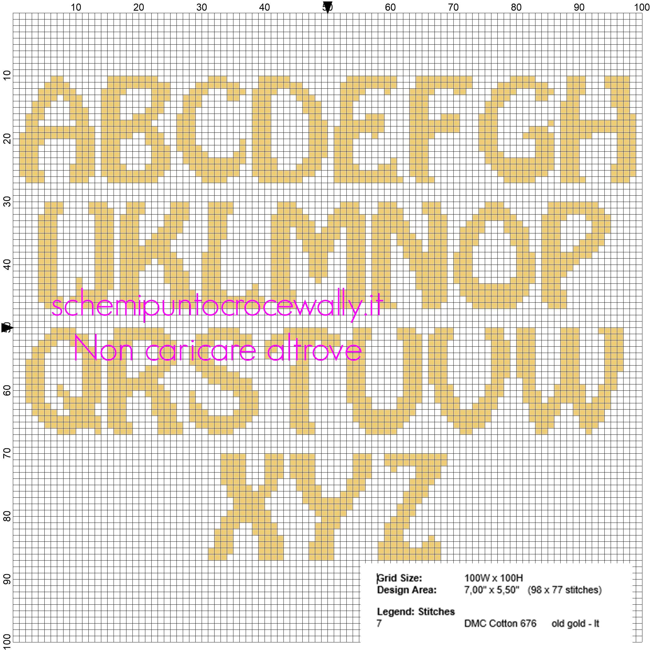 Alfabeto maiuscolo punto croce per i nomi con i minions for Punto croce schemi alfabeto