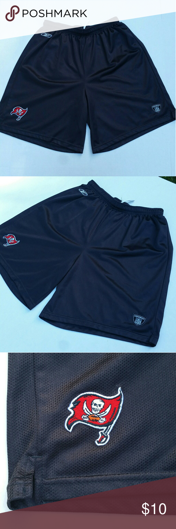 Vintage Reebok Buccaneers shorts Classic Reebok athletics