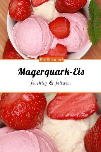Magerquark-Eis: fruchtig & fettarm