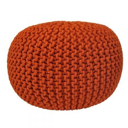 Lob Design Pouf.Pouf Arancio Home Sweet Home Design Lob Hats