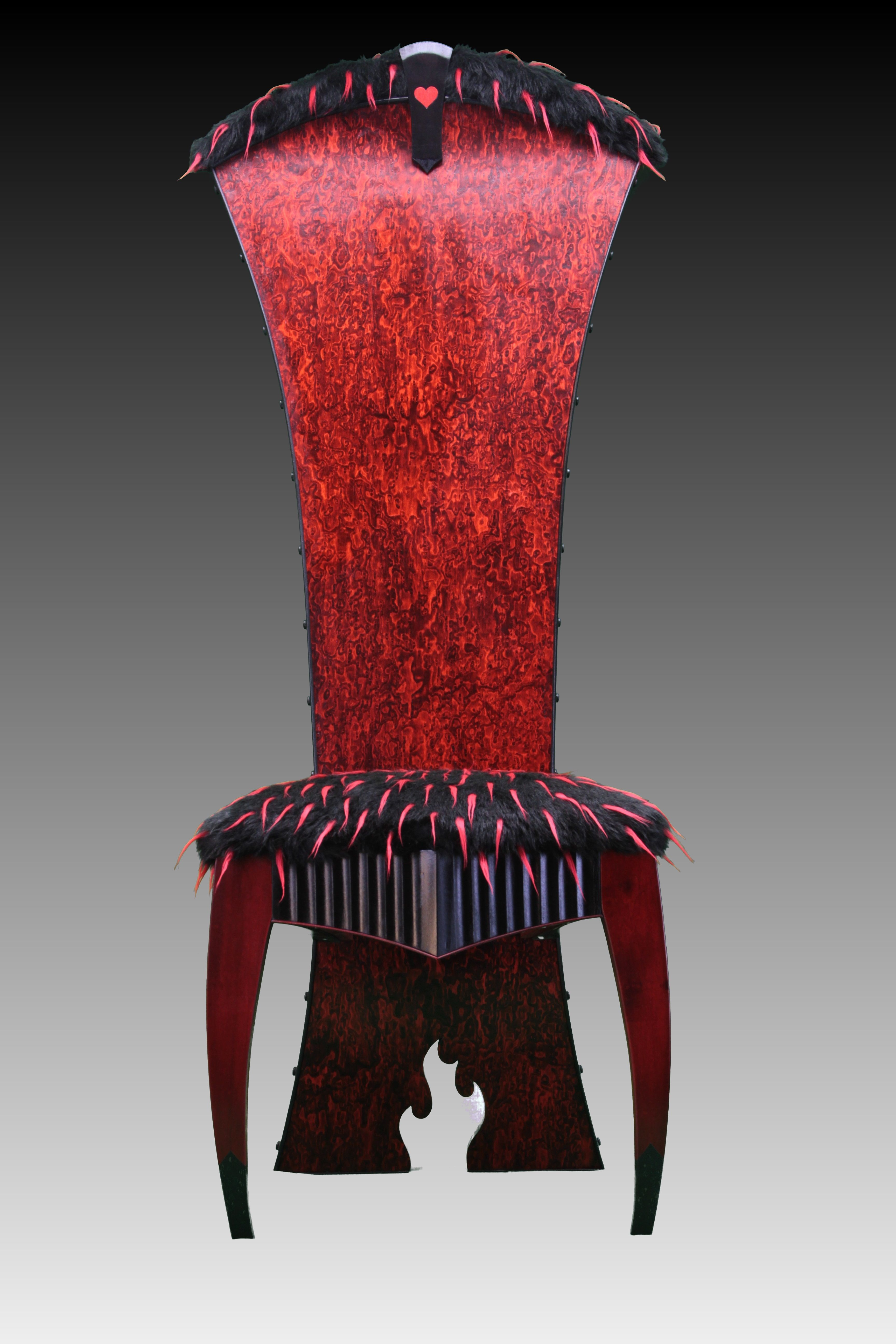 Game of thrones inspired chair by clint parker cathedra