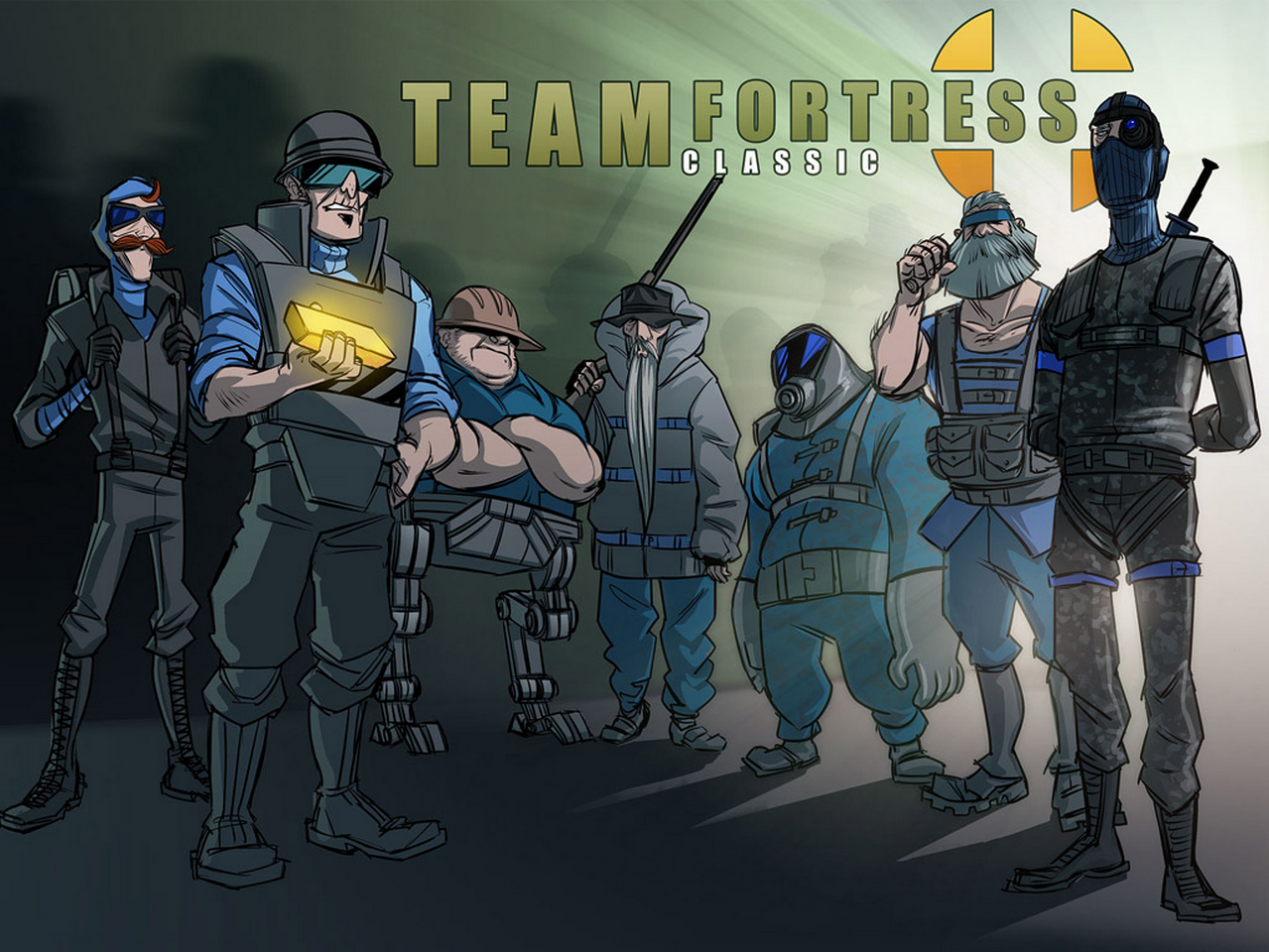Team Fortress Classic Wallpaper By Cyborgrox Deviantart Com On