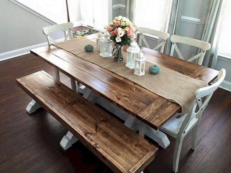 42+ Unique farmhouse table type