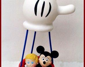 Balão do Mickey + aniversariante